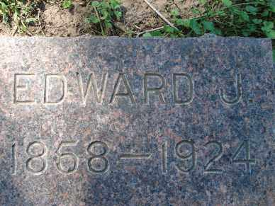 BROWN, EDWARD J. - Minnehaha County, South Dakota   EDWARD J. BROWN - South Dakota Gravestone Photos
