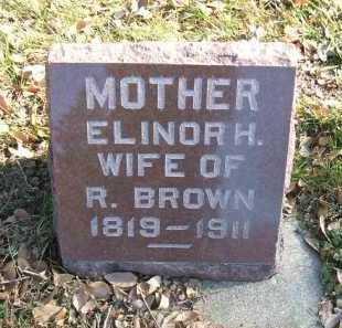 BROWN, ELINOR H. - Minnehaha County, South Dakota | ELINOR H. BROWN - South Dakota Gravestone Photos