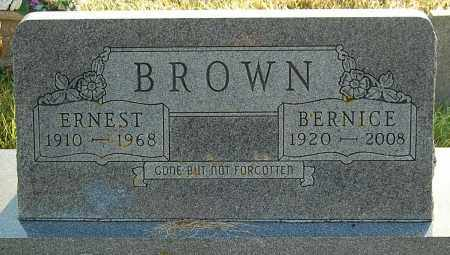 BROWN, BERNICE - Minnehaha County, South Dakota | BERNICE BROWN - South Dakota Gravestone Photos