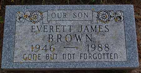 BROWN, EVERETT JAMES - Minnehaha County, South Dakota | EVERETT JAMES BROWN - South Dakota Gravestone Photos
