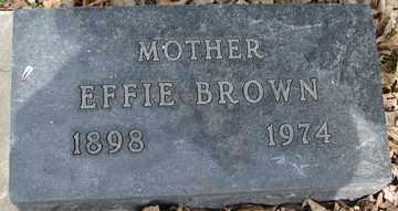 BROWN, EFFIE - Minnehaha County, South Dakota | EFFIE BROWN - South Dakota Gravestone Photos