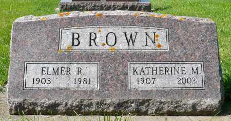 BROWN, KATHERINE M. - Minnehaha County, South Dakota | KATHERINE M. BROWN - South Dakota Gravestone Photos
