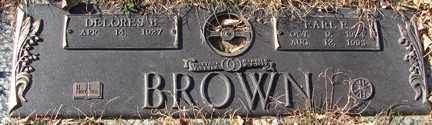 BROWN, DELORES - Minnehaha County, South Dakota | DELORES BROWN - South Dakota Gravestone Photos
