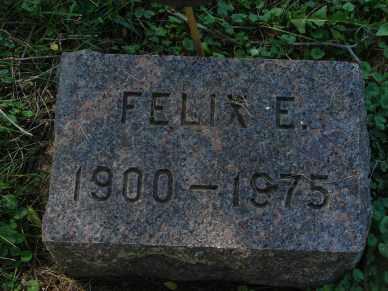 BROWN, FELIX E. - Minnehaha County, South Dakota | FELIX E. BROWN - South Dakota Gravestone Photos