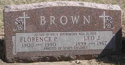 BROWN, LEO J. - Minnehaha County, South Dakota | LEO J. BROWN - South Dakota Gravestone Photos