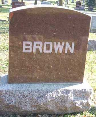 BROWN, FAMILY STONE - Minnehaha County, South Dakota | FAMILY STONE BROWN - South Dakota Gravestone Photos