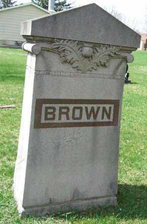 BROWN, FAMILY STONE - Minnehaha County, South Dakota | FAMILY STONE BROWN - South Dakota Gravestone Photos