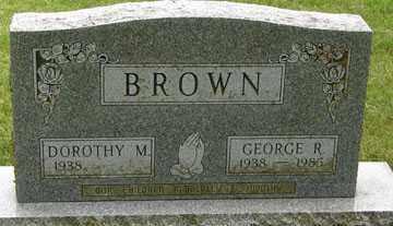 BROWN, DOROTHY M. - Minnehaha County, South Dakota | DOROTHY M. BROWN - South Dakota Gravestone Photos