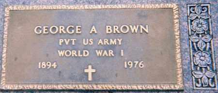 BROWN, GEORGE - Minnehaha County, South Dakota | GEORGE BROWN - South Dakota Gravestone Photos