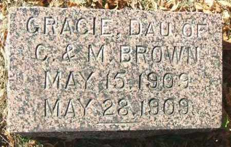 BROWN, GRACIE - Minnehaha County, South Dakota | GRACIE BROWN - South Dakota Gravestone Photos