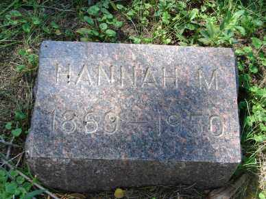 BROWN, HANNAH M. - Minnehaha County, South Dakota | HANNAH M. BROWN - South Dakota Gravestone Photos