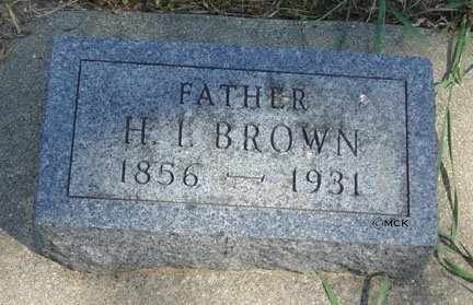 BROWN, HARRY L. - Minnehaha County, South Dakota | HARRY L. BROWN - South Dakota Gravestone Photos