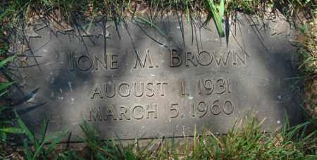 BROWN, IONE M. - Minnehaha County, South Dakota | IONE M. BROWN - South Dakota Gravestone Photos