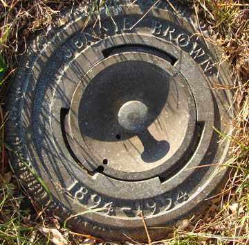 BROWN, JENNIE - Minnehaha County, South Dakota   JENNIE BROWN - South Dakota Gravestone Photos