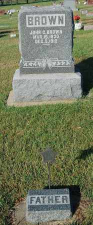 BROWN, JOHN G. - Minnehaha County, South Dakota | JOHN G. BROWN - South Dakota Gravestone Photos