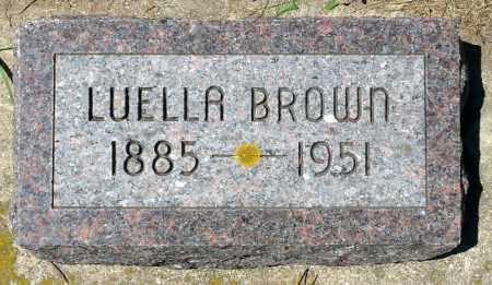 BROWN, LUELLA - Minnehaha County, South Dakota | LUELLA BROWN - South Dakota Gravestone Photos