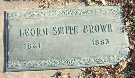 BROWN, LEONA - Minnehaha County, South Dakota | LEONA BROWN - South Dakota Gravestone Photos