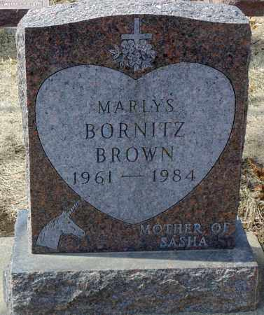 BROWN, MARLYS - Minnehaha County, South Dakota | MARLYS BROWN - South Dakota Gravestone Photos