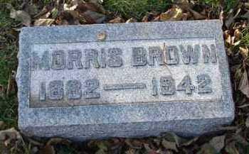 BROWN, MORRIS - Minnehaha County, South Dakota | MORRIS BROWN - South Dakota Gravestone Photos