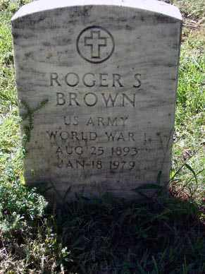 BROWN, ROGER S. - Minnehaha County, South Dakota   ROGER S. BROWN - South Dakota Gravestone Photos