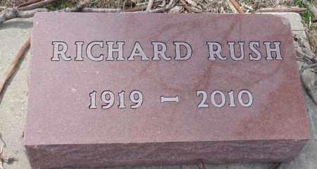 BROWN, RICHARD RUSH - Minnehaha County, South Dakota | RICHARD RUSH BROWN - South Dakota Gravestone Photos