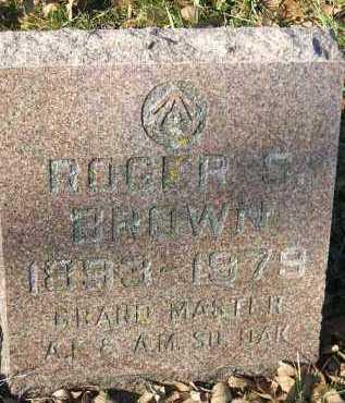 BROWN, ROGER S. - Minnehaha County, South Dakota | ROGER S. BROWN - South Dakota Gravestone Photos