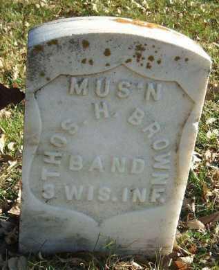 BROWN, THOMAS H. - Minnehaha County, South Dakota | THOMAS H. BROWN - South Dakota Gravestone Photos