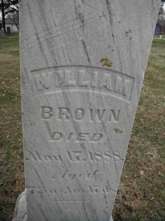 BROWN, WILLIAM - Minnehaha County, South Dakota | WILLIAM BROWN - South Dakota Gravestone Photos
