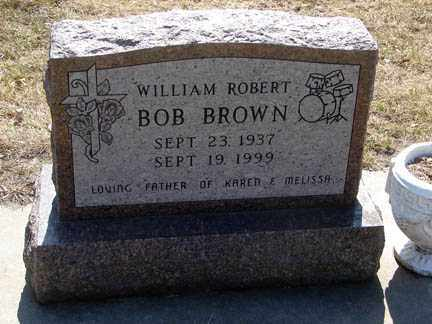 BROWN, WILLIAM ROBERT - Minnehaha County, South Dakota | WILLIAM ROBERT BROWN - South Dakota Gravestone Photos