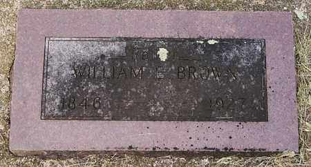 BROWN, WILLIAM E - Minnehaha County, South Dakota | WILLIAM E BROWN - South Dakota Gravestone Photos
