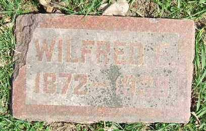 BROWN, WILFRED E. - Minnehaha County, South Dakota | WILFRED E. BROWN - South Dakota Gravestone Photos