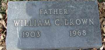 BROWN, WILLIAM  C. - Minnehaha County, South Dakota | WILLIAM  C. BROWN - South Dakota Gravestone Photos