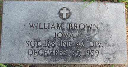 BROWN, WILLIAM (MILITARY) - Minnehaha County, South Dakota | WILLIAM (MILITARY) BROWN - South Dakota Gravestone Photos