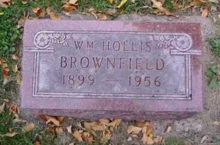 BROWNFIELD, WM HOLLIS - Minnehaha County, South Dakota | WM HOLLIS BROWNFIELD - South Dakota Gravestone Photos