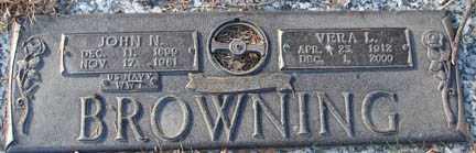BROWNING, VERA L. - Minnehaha County, South Dakota | VERA L. BROWNING - South Dakota Gravestone Photos