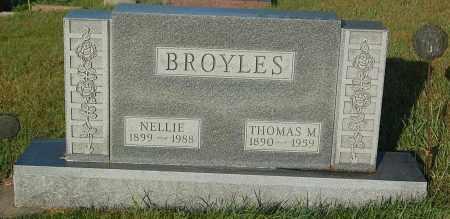 BROYLES, THOMAS M. - Minnehaha County, South Dakota | THOMAS M. BROYLES - South Dakota Gravestone Photos