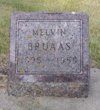 BRUAAS, JOHN MELVIN - Minnehaha County, South Dakota | JOHN MELVIN BRUAAS - South Dakota Gravestone Photos