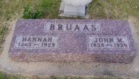 GRESETH BRUAAS, HANNAH MARIE - Minnehaha County, South Dakota   HANNAH MARIE GRESETH BRUAAS - South Dakota Gravestone Photos