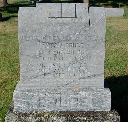 BRUCE, MARY M. - Minnehaha County, South Dakota | MARY M. BRUCE - South Dakota Gravestone Photos