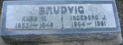 BRUDVIG, INGEBORG J. - Minnehaha County, South Dakota | INGEBORG J. BRUDVIG - South Dakota Gravestone Photos