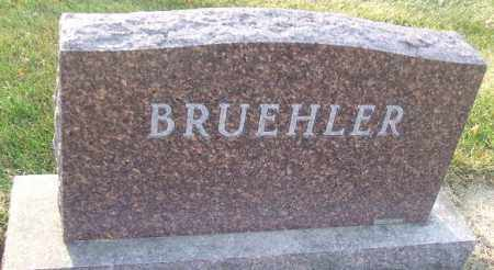 BRUEHLER, FAMILY STONE - Minnehaha County, South Dakota | FAMILY STONE BRUEHLER - South Dakota Gravestone Photos