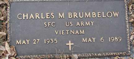 BRUMBELOW, CHARLES M. (VIETNAM) - Minnehaha County, South Dakota | CHARLES M. (VIETNAM) BRUMBELOW - South Dakota Gravestone Photos