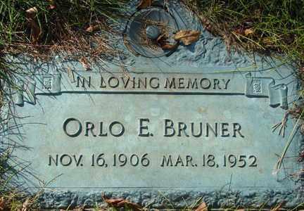 BRUNER, ORLO E. - Minnehaha County, South Dakota | ORLO E. BRUNER - South Dakota Gravestone Photos