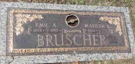 BRUSCHER, EMIL A. - Minnehaha County, South Dakota | EMIL A. BRUSCHER - South Dakota Gravestone Photos