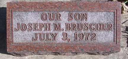 BRUSCHER, JOSEPH M. - Minnehaha County, South Dakota | JOSEPH M. BRUSCHER - South Dakota Gravestone Photos