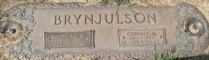 BRYNJULSON, GUNHILD M. - Minnehaha County, South Dakota   GUNHILD M. BRYNJULSON - South Dakota Gravestone Photos