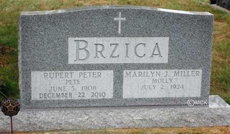 BRZICA, MARILYN J. - Minnehaha County, South Dakota | MARILYN J. BRZICA - South Dakota Gravestone Photos