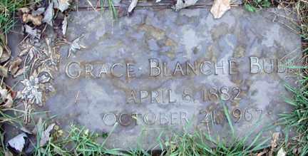 BUBB, GRACE BLANCHE - Minnehaha County, South Dakota | GRACE BLANCHE BUBB - South Dakota Gravestone Photos