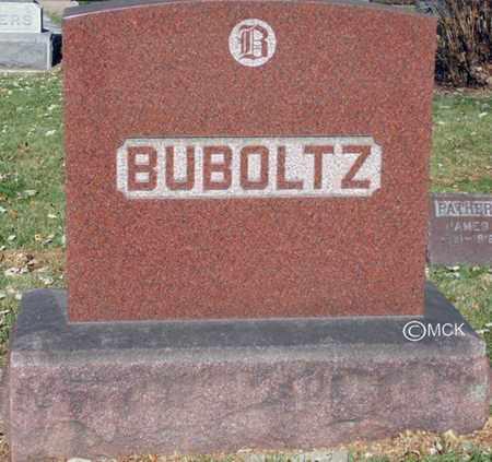 BUBOLTZ, HEADSTONE - Minnehaha County, South Dakota   HEADSTONE BUBOLTZ - South Dakota Gravestone Photos