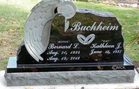 BUCHHEIM, BERNARD L. - Minnehaha County, South Dakota | BERNARD L. BUCHHEIM - South Dakota Gravestone Photos